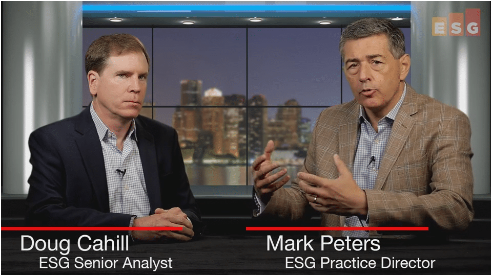 ESG360 Video: Talking Cybersecurity with Doug Cahill and Mark Peters - Part 2