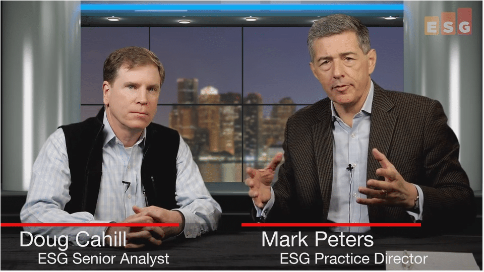 ESG360 Video: Talking Cloud Cybersecurity With Doug Cahill and Mark Peters