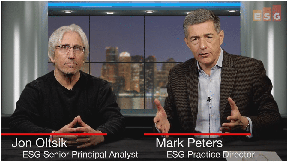 ESG360 Video: Talking Cybersecurity With Jon Oltsik and Mark Peters
