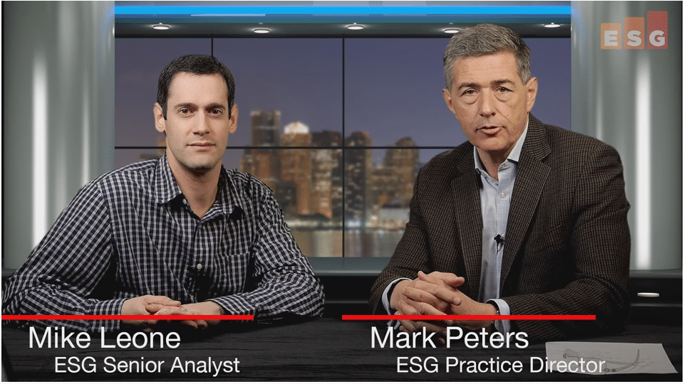 ESG360 Video: Talking Data Analytics and Platforms With Mike Leone and Mark Peters