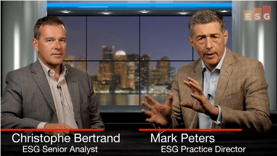 ESG360 Video:Talking GDPR With Christophe Bertrand and Mark Peters