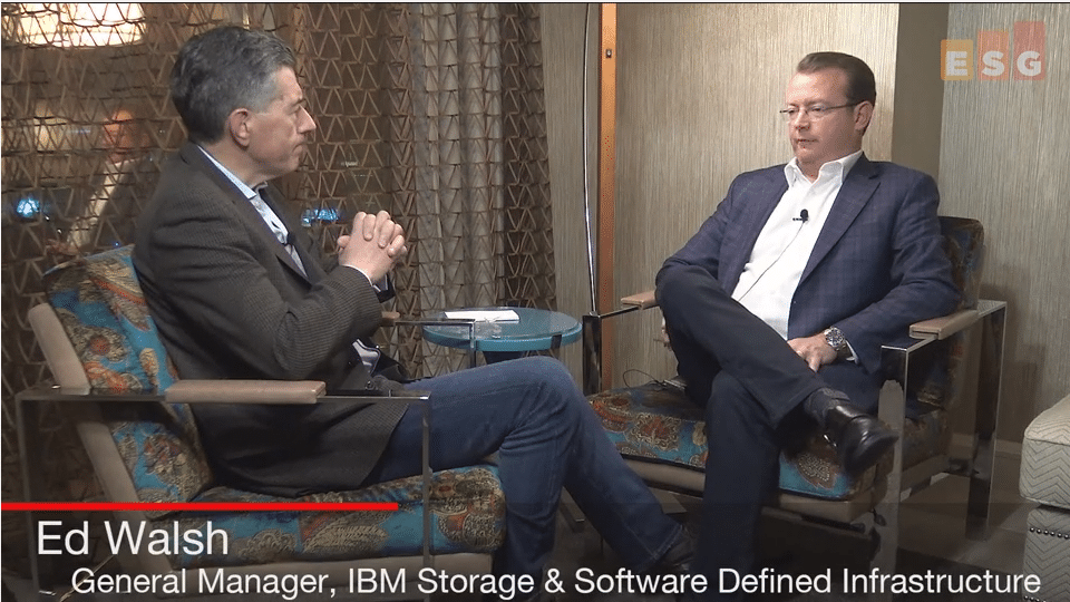 ESG On Location Video: Interview with IBM's Ed Walsh