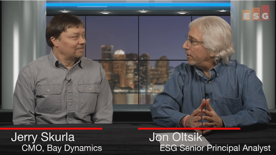 ESG360 Video: SOAPA Interview with Jerry Skurla of Bay Dynamics - Part 1