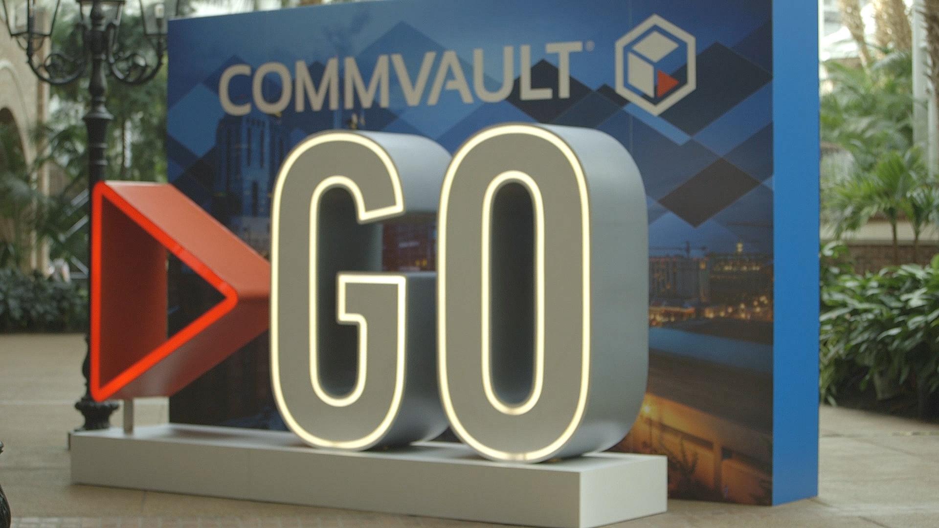 Commvault Go 2018 Video Coverage