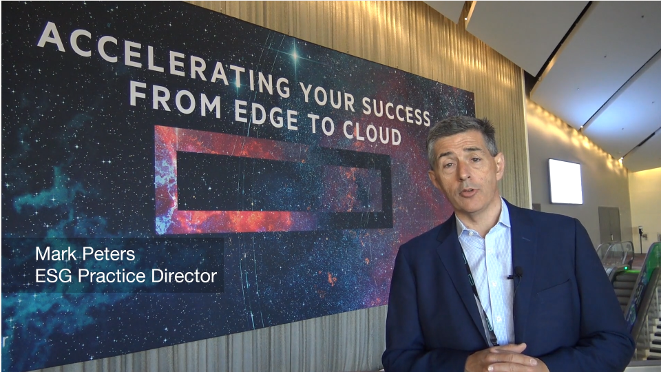 ESG On Location: A Conversation with Andrew Manners, VP of Storage for HPE