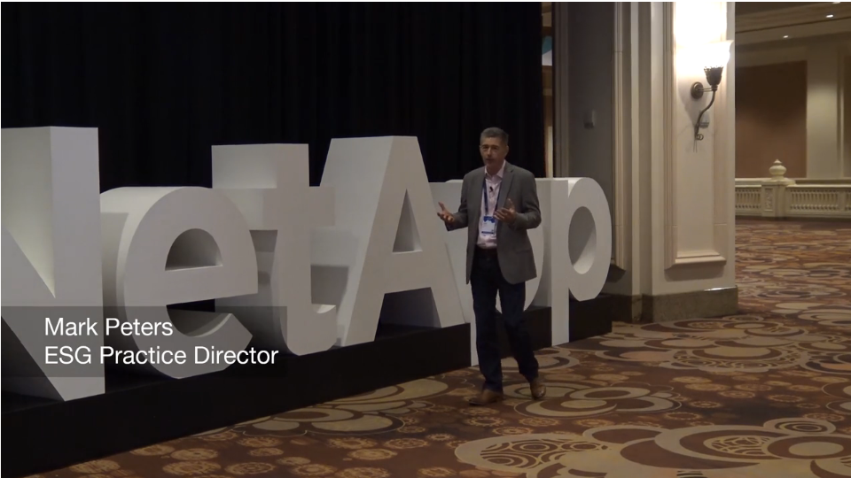 ESG On Location: Impressions from NetApp Insight 2019