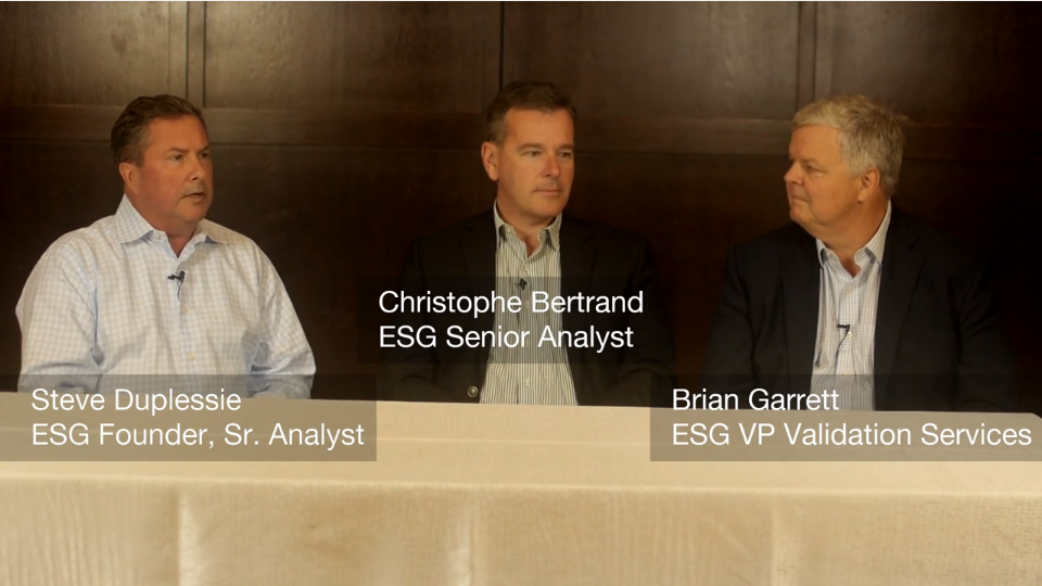 ESG On Location: Insights from Actifio's Data Driven 2019