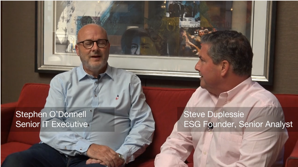 ESG On Location: Disaster Recovery in Western Europe - A Conversation with Stephen O'Donnell