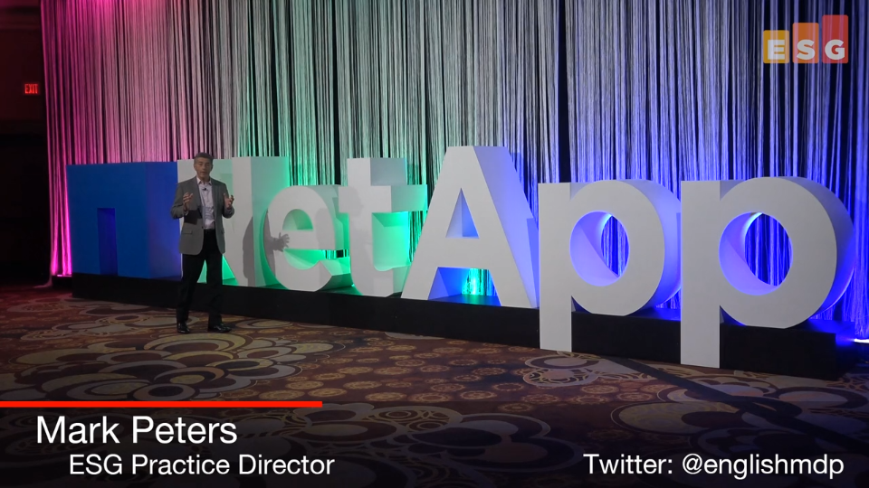 ESG On Location Video: Impressions From NetApp Insight 2018