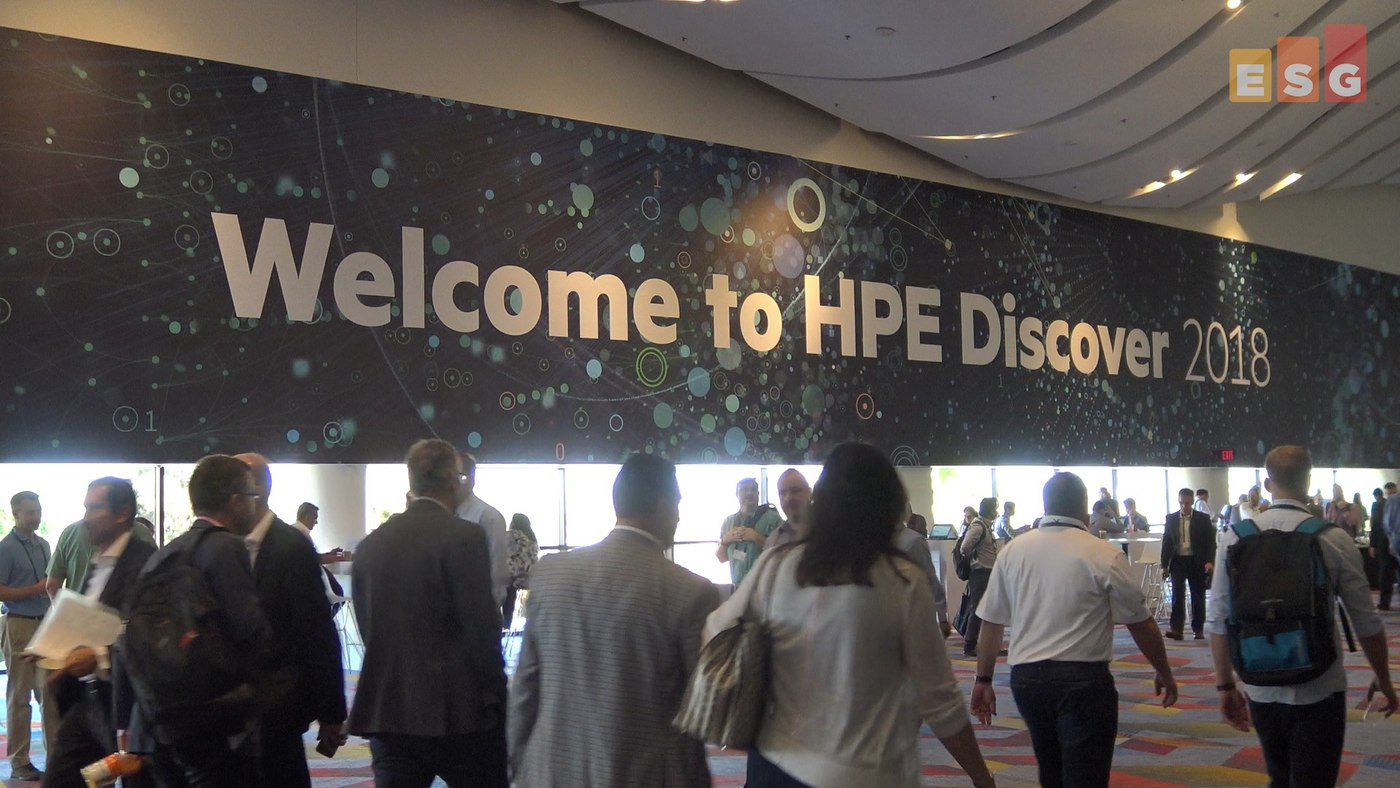 ESG On Location Video: Insights From HPE Discover 2018