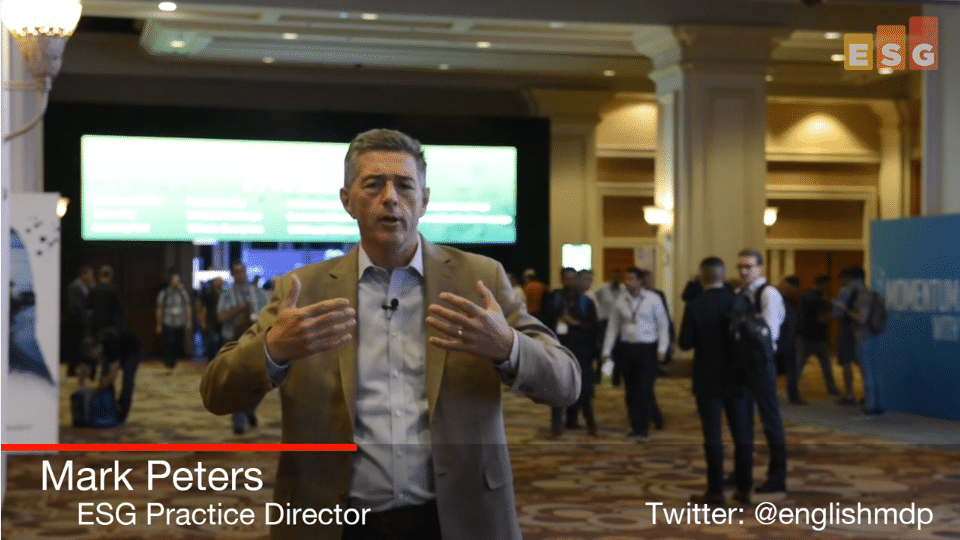 ESG On Location Video: Insights from VMworld 2018