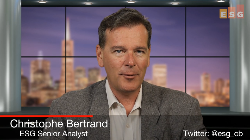 ESG Video Blog: Data Protection Landscape Survey Highlights - Top Mandates from IT Leadership