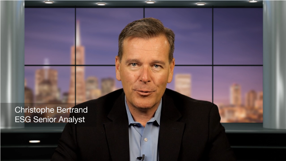 ESG Video Blog: Research Update - The Evolution from Data Backup to Data Intelligence