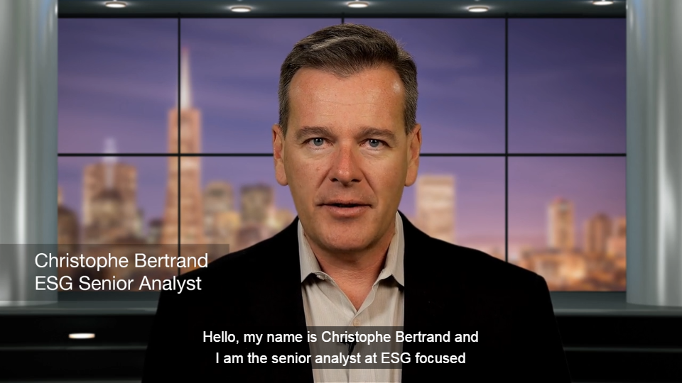 ESG Video: ESG's Backup Data Transformation Model