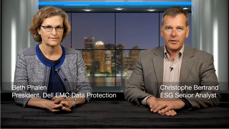ESG360 Video: A Data Protection Conversation with Beth Phalen of Dell EMC