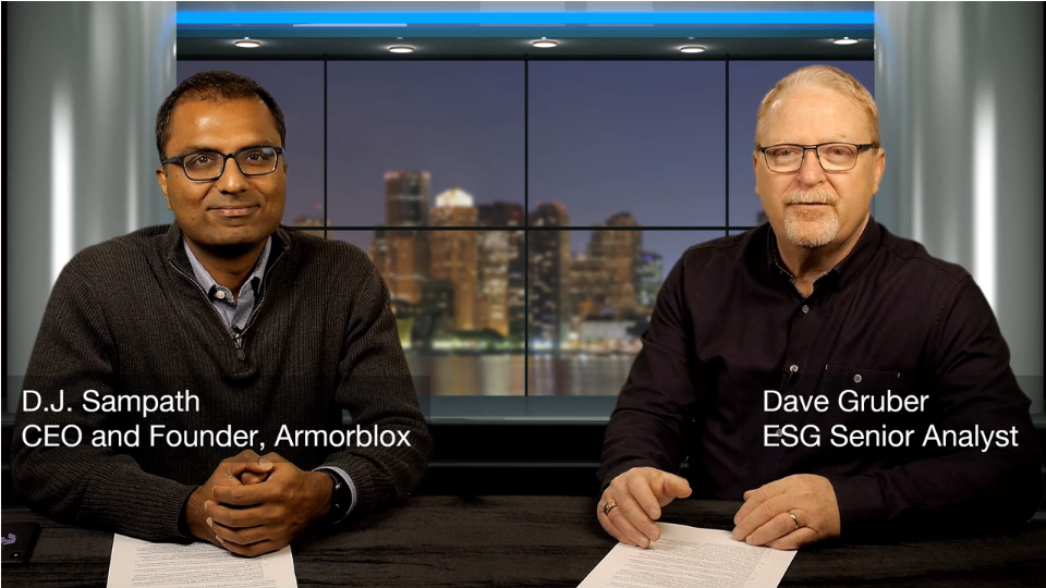 ESG360 Video: Conversation with D.J. Sampath of Armorblox On Natural Language Processing