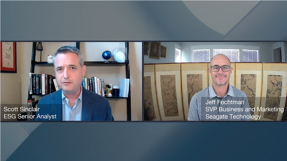 ESG360 Video: Data And The Digital Enterprise - A Conversation With Jeff Fochtman Of Seagate