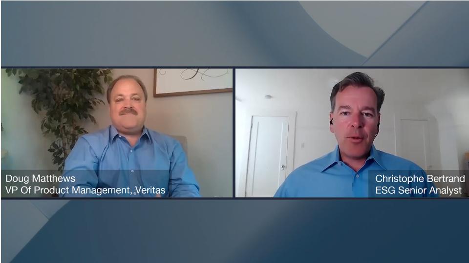ESG360 Video: Data Protection Conversation with Doug Matthews of Veritas