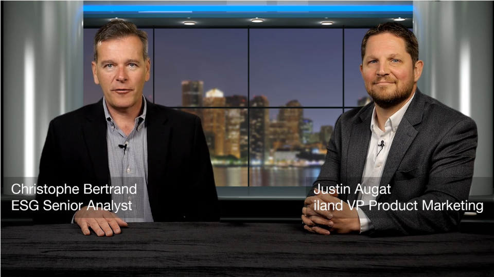 ESG360 Video: Data Protection Conversation with Justin Augat of Iland