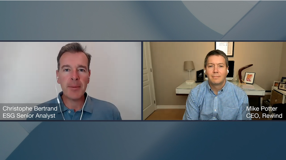 ESG360 Video: Data Protection Conversation With Mike Potter of Rewind