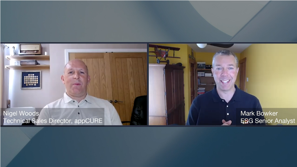 ESG360 Video: Digital Workspace Ecosystem Conversation with with Nigel Woods of appCURE