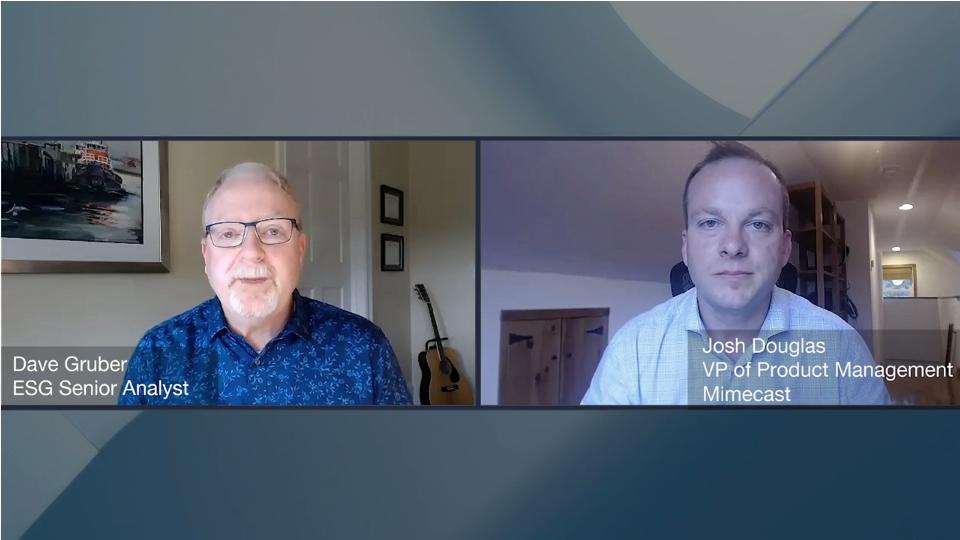ESG360 Video: Email Security Conversation With Josh Douglas of Mimecast