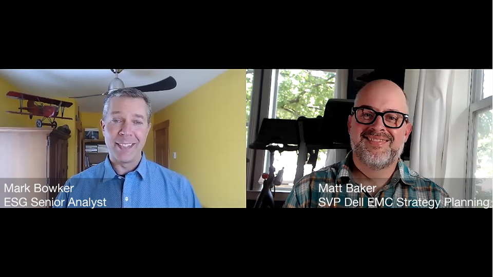ESG360 Video: Enterprise Mobility in Challenging Times - A Conversation With Matt Baker of Dell EMC