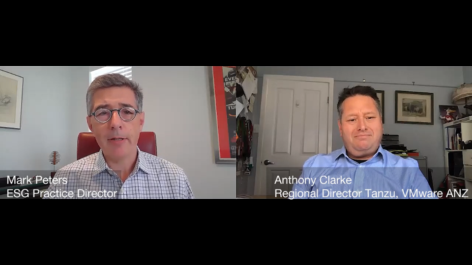 ESG360 Video: Marketing in Challenging Times - A Conversation with Anthony Clarke of VMware