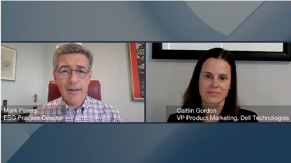 ESG360 Video: Marketing in Challenging Times - A Conversation with Caitlin Gordon of Dell