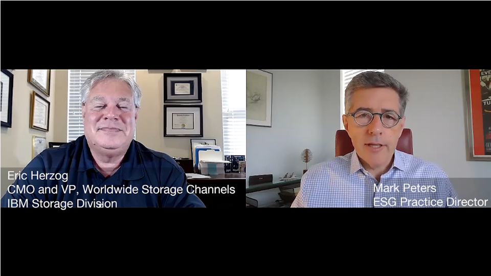 ESG360 Video: Marketing in Challenging Times - A Conversation with Eric Herzog of IBM