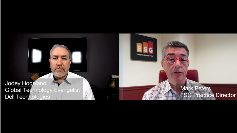 ESG360 Video: Marketing in Challenging Times - A Conversation with Jodey Hogeland ofDell Technologies