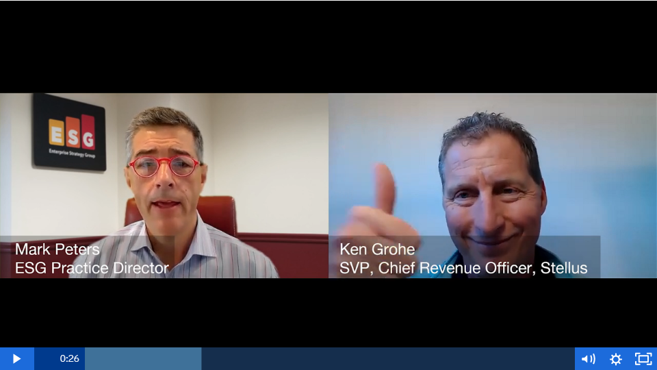 ESG360 Video: Marketing in Challenging Times - A Conversation with Ken Grohe of Stellus