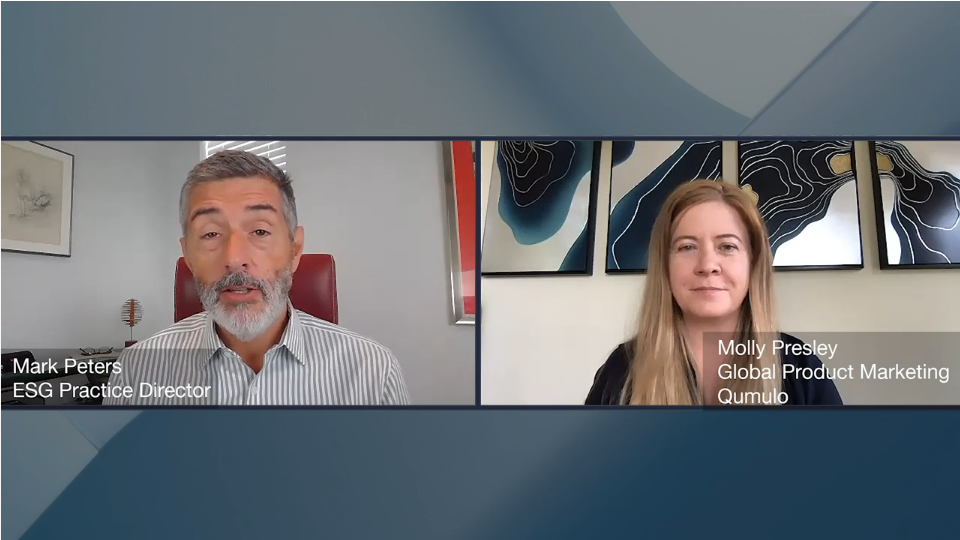 ESG360 Video: Marketing In Challenging Times - A Conversation With Molly Presley of Qumulo