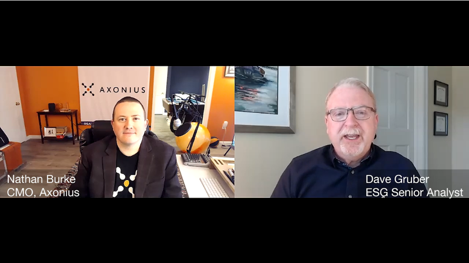 ESG360 Video: Marketing in Challenging Times - A Conversation With Nathan Burke of Axonius