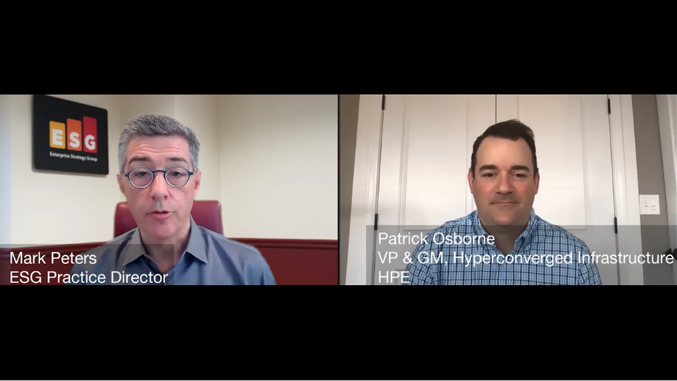 ESG360 Video: Marketing in Challenging Times - A Conversation with Pat Osborne of HPE