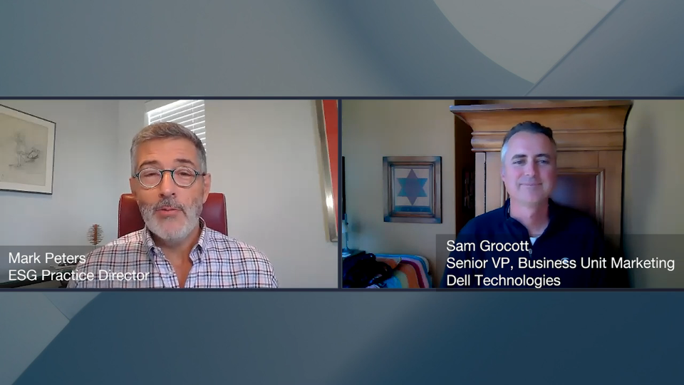 ESG360 Video: Marketing in Challenging Times - A Conversation with Sam Grocott of Dell Technologies