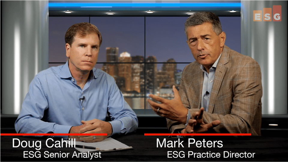 ESG360 Video:Talking about Linking Development and Security With Doug Cahill and Mark Peters