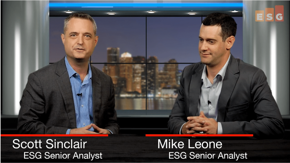ESG360 Video:Talking AI and Storage Infrastructure With Mike Leone and Scott Sinclair