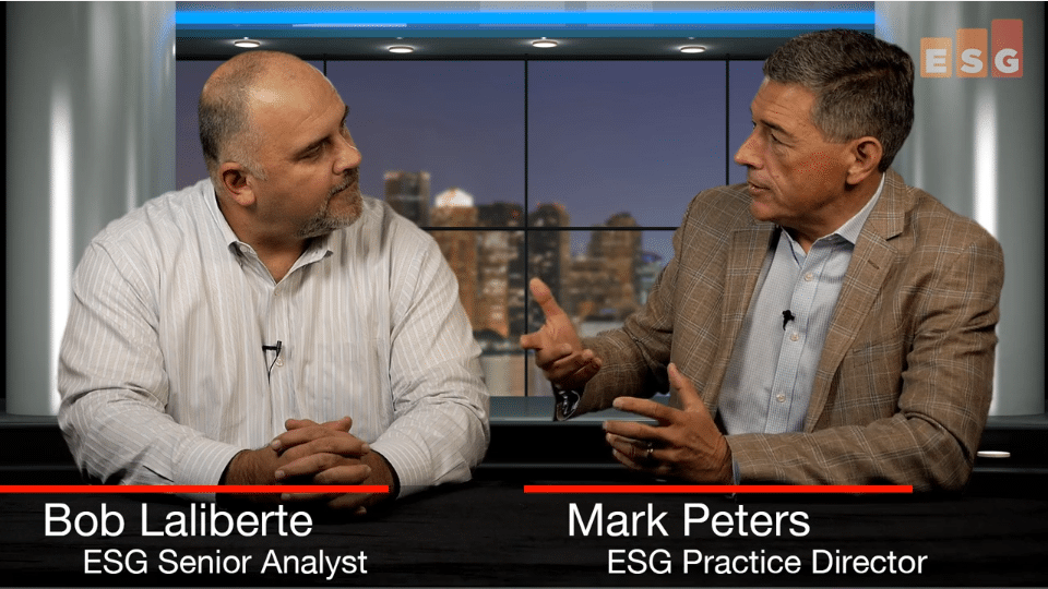 ESG360 Video: Talking Connectivity and Experience With Bob Laliberte and Mark Peters