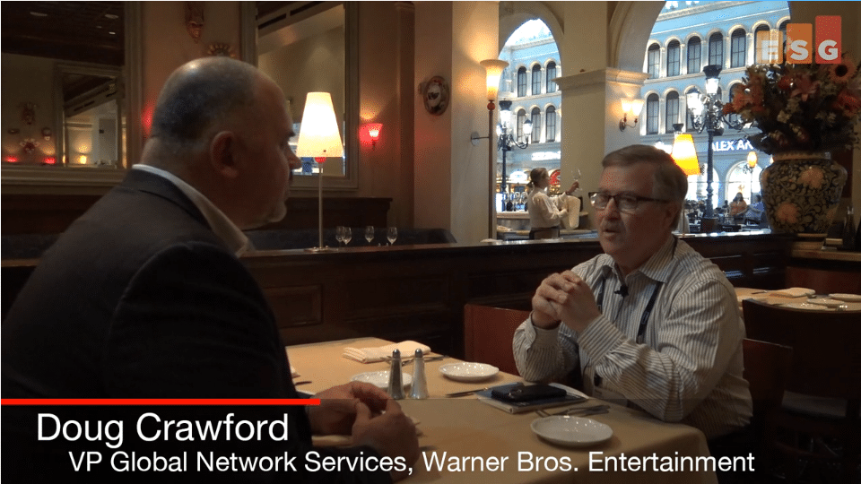 ESG On Location Video: In Conversation with Warner Bros. Entertainment's Doug Crawford at HPE Discover 2018